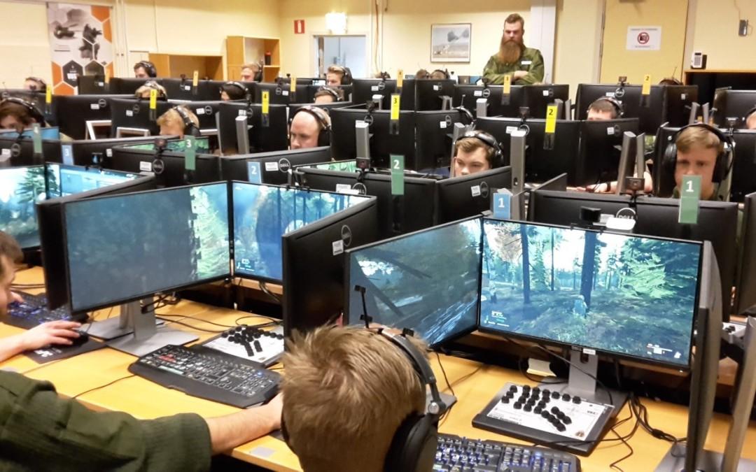 CriseIT besökte Försvarets Ledningsträningsanläggning i Skövde
